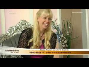 Angelika Haas bei Astro-TV